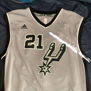 Tim Duncan jersey